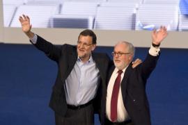 Rajoy y Cañete centran su campaña electoral en ataques a la herencia del PSOE