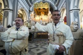 Banderas se refugia en la Semana Santa de Málaga para «descansar»