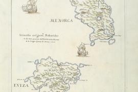 Mapas históricos de Eivissa, en una exposición de la Biblioteca Nacional