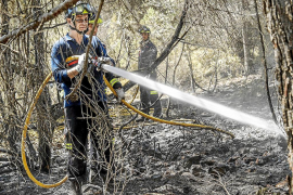 Aluvión de críticas contra el Govern por la falta de medios aéreos de extinción de incendios en Eivissa