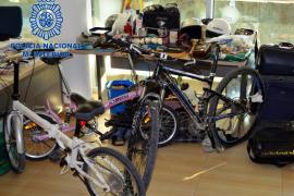 Tres detenidos por múltiples robos con fuerza en Eivissa
