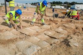 Los restos arqueológicos del Mercadona de Puig d'en Valls se museizarán y expondrán al público