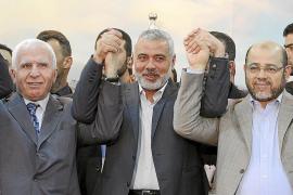 Los partidos palestinos Al Fatah y Hamás anuncian la reconciliación