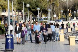 Tiempo inestable en Balears durante el puente de mayo