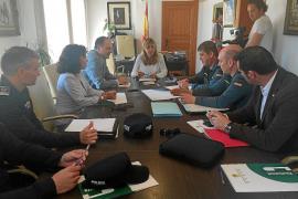 Santa Eulària reclama más guardias civiles para los meses de temporada