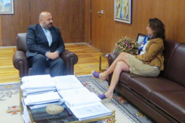 Martínez aborda con Borrego la homogeneización de la normativa turística