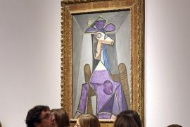 Picasso 'recauda' 62,5 millones en Nueva York, en  una subasta de Christie's liderada por Monet