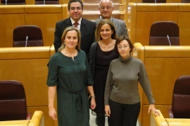 Cuatro senadores rompen la disciplina del PP y votan contra los sondeos