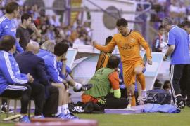 El Madrid no puede sobreponerse a la lesión de Ronaldo y sólo empata
