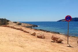 La zona de Sa Punta recupera su imagen