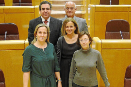 El PP balear media ante Génova para evitar  que sancionen a los senadores díscolos