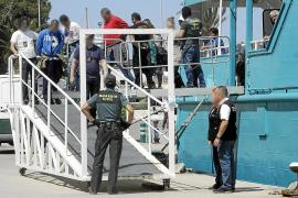 Prisión sin fianza para ocho de los catorce detenidos por traficar con droga en Formentera