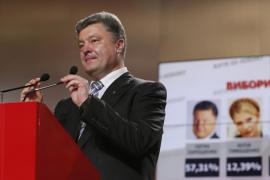 Poroshenko, el 'rey del chocolate' se proclama ganador de las presidenciales de Ucrania
