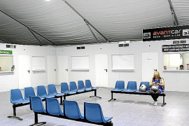 La estación marítima de es Botafoc tendrá cinco oficinas de alquiler de coches
