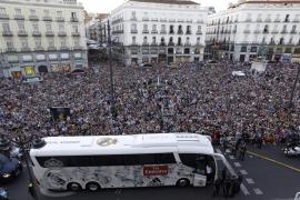El Real Madrid celebra  la Décima con la Comunidad de Madrid