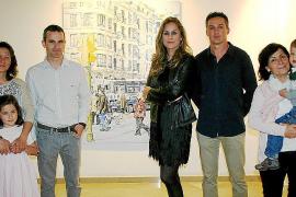 Tomeu Morey presenta su obra en la galería Vanrell
