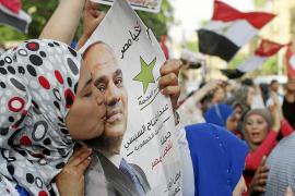 Egipto, listo para coronar a Al Sisi en unas elecciones de tinte plebiscitario
