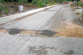 Los progresistas exigen a Red Eléctrica que repare las calles de Jesús dañadas por las obras