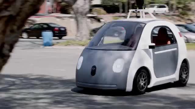 Google presenta un coche que se conduce solo sin volante ni pedales