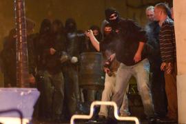 Al menos 25 detenidos en la tercera noche de incidentes por el desalojo de Can Vies