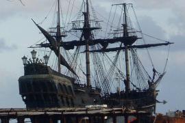 La Perla Negra de Jack Sparrow se hunde en las Antillas