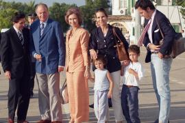 VACACIONES DE VERANO DE LA FAMILIA REAL ESPAÑOLA EN PALMA