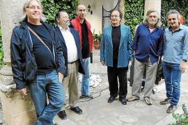 Exposición de esculturas en Santa Maria