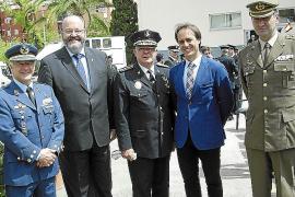 Toma de posesión del nuevo jefe de la Policía Local de Palma