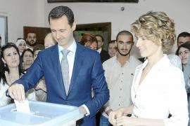 Bachar al Asad busca la reeleción en medio de una guerra civil