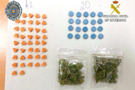 Un detenido en la playa de Sant Antoni por menudeo de drogas