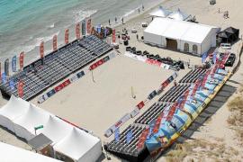 Lo mejor del voley playa, en Platja d'en Bossa