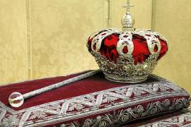 Corona y cetro, las joyas presentes en la proclamación de Felipe VI