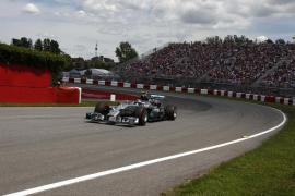Nico Rosberg logra la 'pole' en Montreal con Alonso séptimo