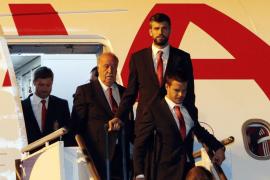 Las selección española ya está en Curitiba