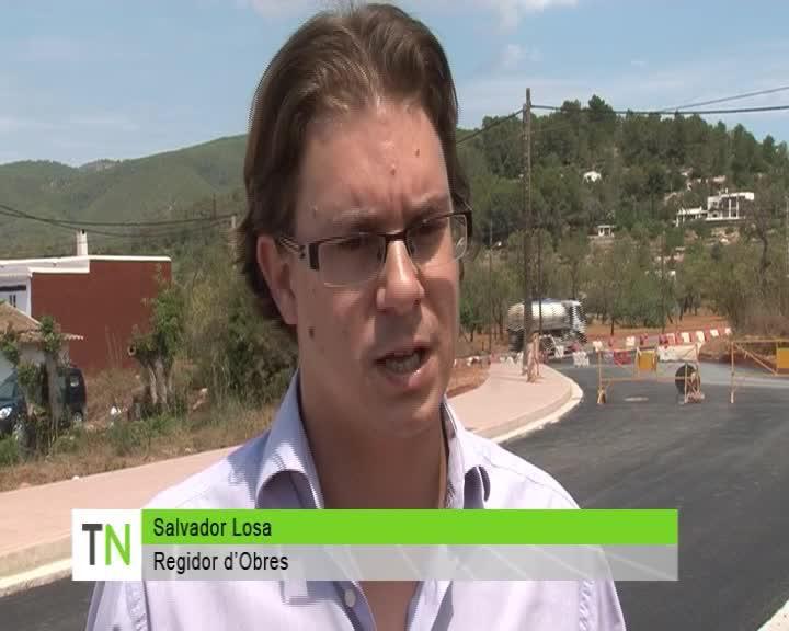 La circunvalación de Sant Carles se abrirá al tráfico el próximo sábado