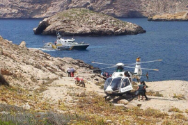 La Guardia Civil intercepta una patera en Cabrera con once inmigrantes ilegales