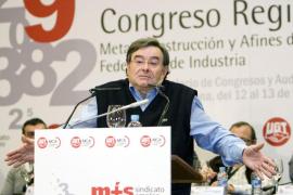 Fallece 'Lito', el histórico dirigente del metal de UGT