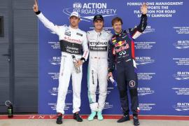 Rosberg saldrá desde la pole en Silverstone, donde Alonso fue eliminado en la Q1