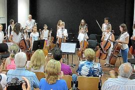 Gran éxito de los músicos del Patronat y de la Banda Simfònica d'Eivissa