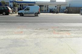 Una joven uruguaya, primera víctima de tráfico en Formentera en 2014