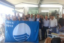 Los puertos de Balears reciben 24 banderas azules, 8 más que hace un año