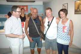 Normalidad en la jornada de votaciones socialistas en Eivissa