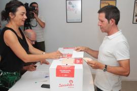 Pedro Sánchez fue el candidato más votado en Eivissa