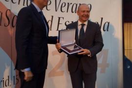 El director general del Servicio de Salud, Miquel Tomàs,  galardonado como uno de los mejores gestores sanitarios