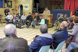 """ASAMBLEA CONSTITUYENTE DE LA PLATAFORMA """" PODEM MALLORCA """" EN EL CLUB D'ESPLAI JOVENT EN S'INDIOTERI"""