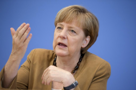 Merkel respalda al Gobierno en su intento por impedir la consulta catalana