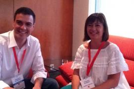 Sánchez anuncia que estará «muy presente» en Balears para ayudar al cambio en 2015