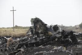 Los expertos de la OSCE llegan al lugar del accidente del avión malasio
