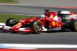 Alonso tercero, por detrás de los Mercedes, en el último libre de Hockenheim