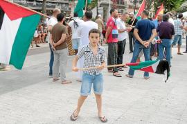 Solidaridad ibicenca con Gaza